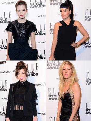 Emma Watson, Lily Allen, Daisy Lowe & Ellie Goulding