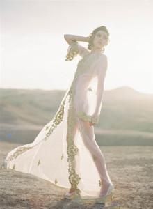 Hollow out wedding dress