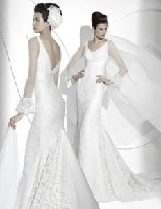 wedding dress by Jesus del Pozo