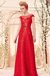 red sequined dress for bride