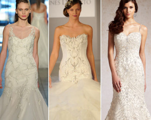 vine wedding dresses