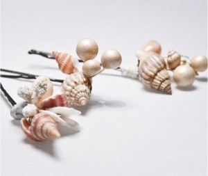 Shell hair accessories
