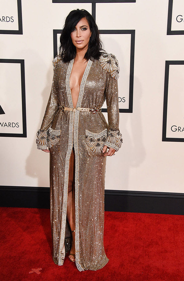 Kim Kardashian sequin dress