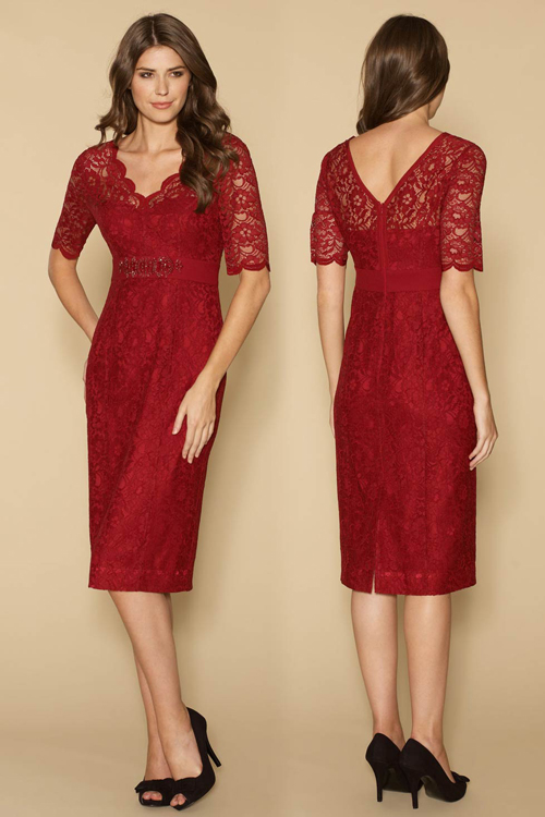 cheap-red-Bridesmaid-Dresses