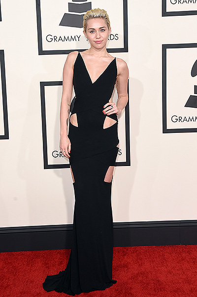 57th GRAMMY Awards Miley Cyrus