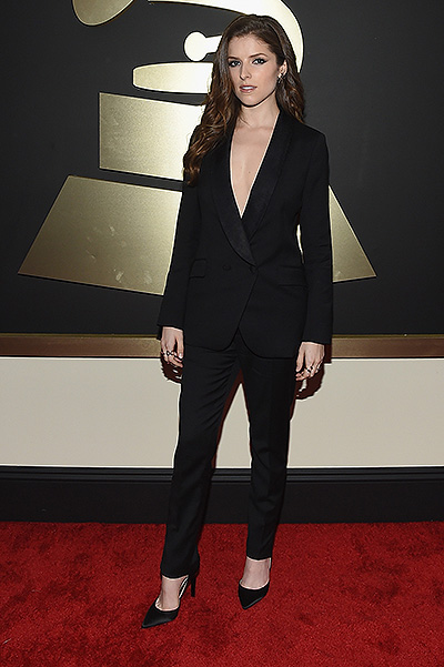 Anna Kendrick attends The 57th Annual GRAMMY Awards