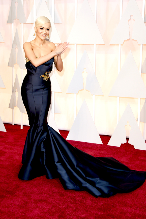 rita ora at Oscars 2015