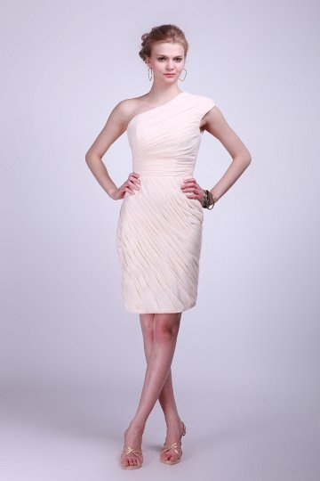 buy discount one shoulder  bridesmaid dresses UK online