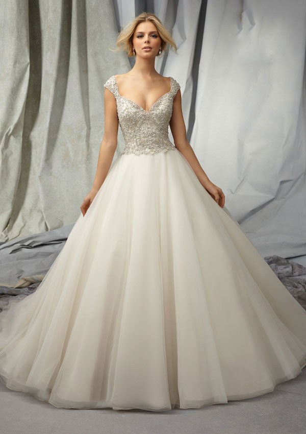 cheap princess Wedding Dresses